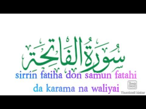 Download sirrin fatiha mai girma