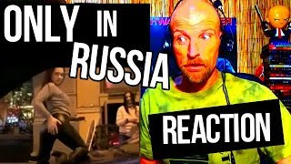 ONLY IN RUSSIA - Russian Funny Videos - REACTION