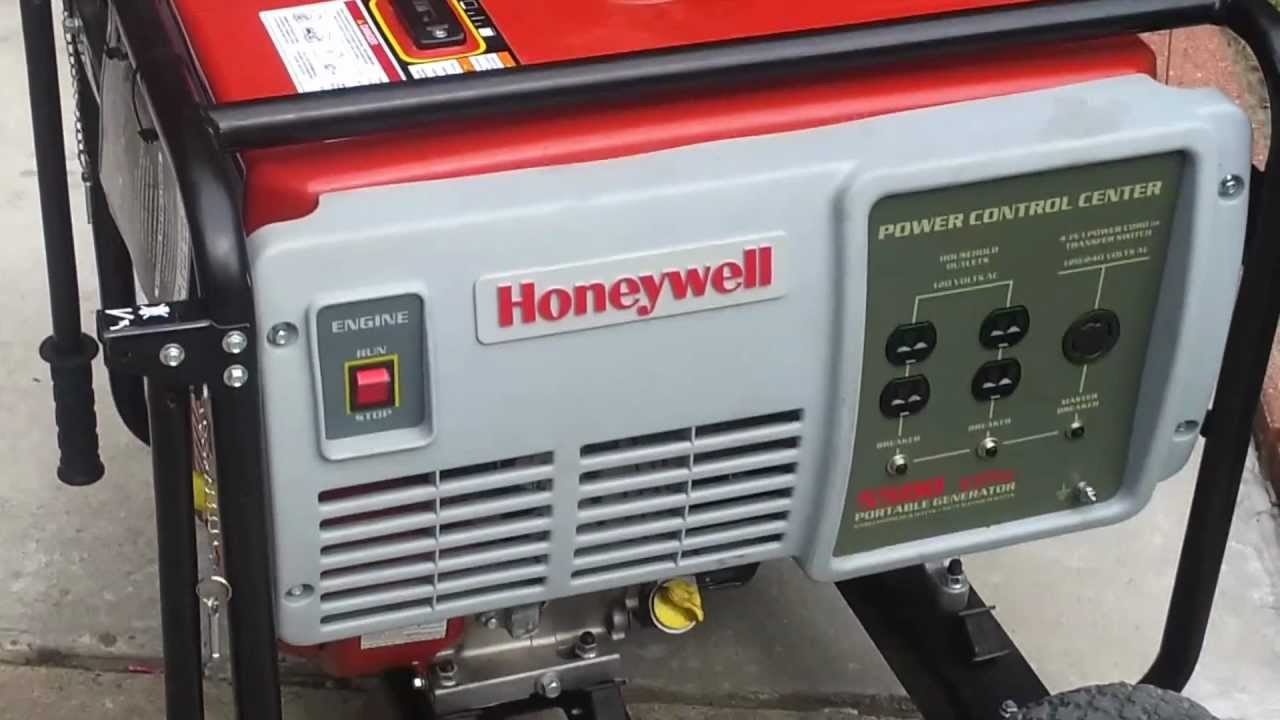Honeywell 5500 watt gen youtube for 5500 3