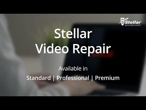 Stellar Repair for Video - Best Video Repair Software 2018 Official