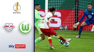 RB Leipzig - VfL Wolfsburg | Highlights - DFB-Pokal 2020/21 | Viertelfinale