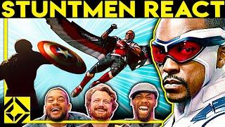 Stuntmen React To Bad & Great Hollywood Stunts 32