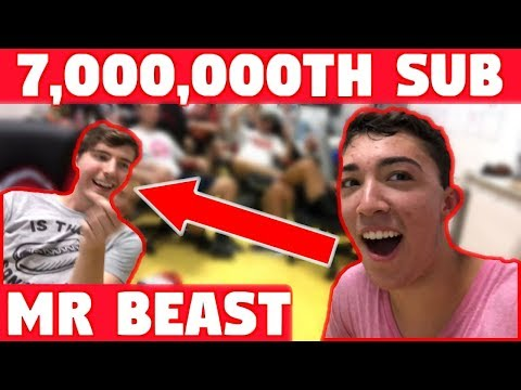 I WAS MR. BEAST'S 7,000,000th SUBSCRIBER AND WON 7,000,000 ___ ! (ft. MrBeast) Mp3