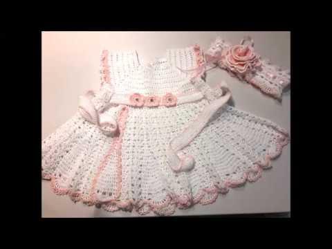 Платье для крещения крючком девочки