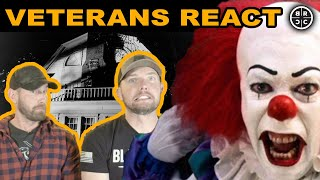 Veterans React to SCARY Movies, Part 2: EP04
