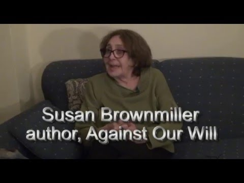 Susan Brownmiller Supporting Bernie Sanders