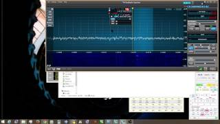 Flex Radio version 1.5 SSDR wideband noise blanker demonstration SSB