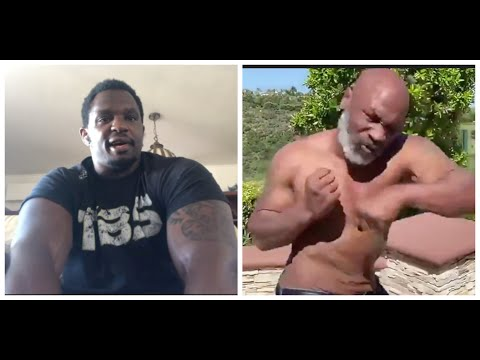 'WHY ARE YOU COMING BACK FOR?  -WHY? -YOU NEED TO CHILL' - DILLIAN WHYTE TO MIKE TYSON & HOLYFIELD