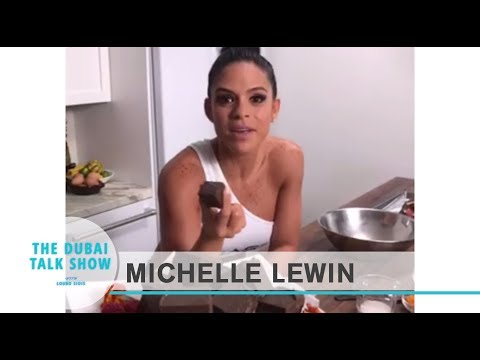 Celebrity Drive - Michelle Lewin shares her food and diet routine
