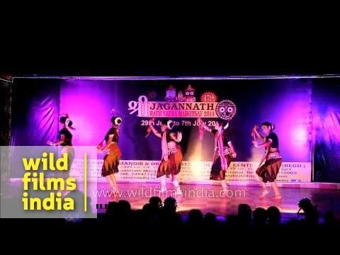 Sambalpuri - Folk dance performed during Rath Yatra Mahotsav