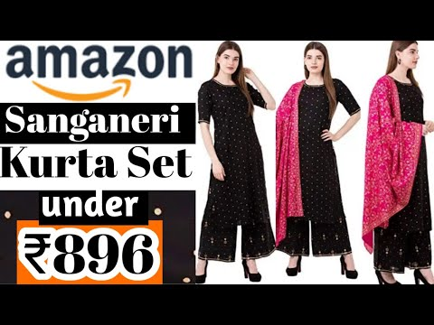 #Amazon Ethnic wear Kurti sets #Review#Affordable#