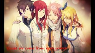 Nightcore -  We Are Family