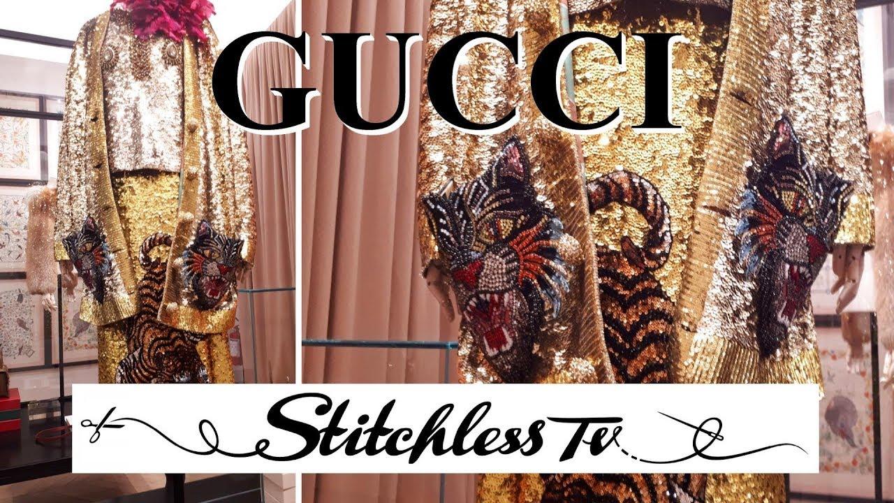 adb9fcc1ce0e0 GUCCI Exhibition Museum & Sewing Inspiration