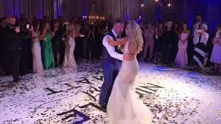 WATCH TILL END!!! Unbelievable wedding first dance!!!!