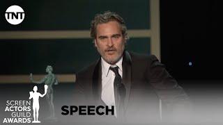 Download Joaquin Phoenix: Award Acceptance Speech | 26th Annual SAG Awards | TNT Mp3 and Videos