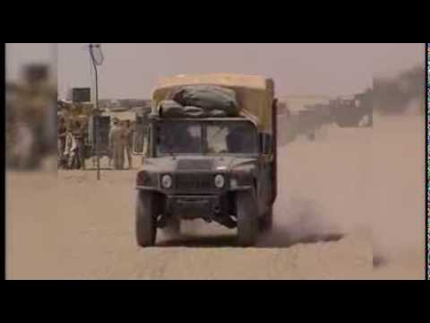 US Marines - 1st Division Marines Sing 'Waltzing Matilda'