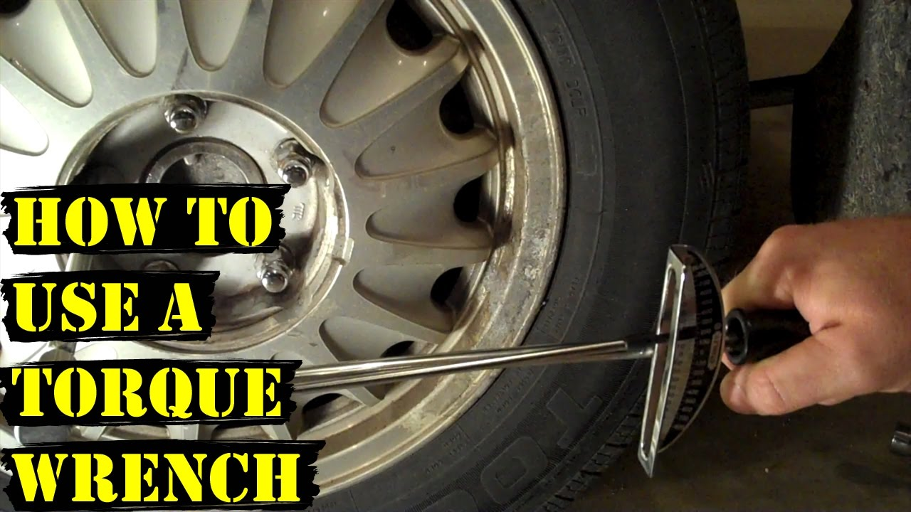 How And Why To Use A Torque Wrench Tire Change