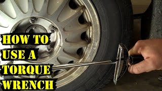 How and Why to Use a Torque Wrench - Tire Change