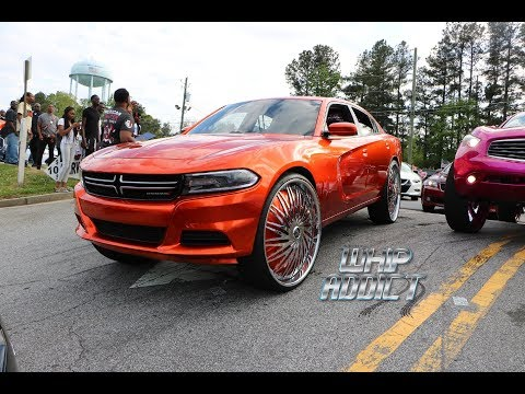 WhipAddict: Stuntworld Block Party 2K18, Custom Cars, Big Rims, Females, Atlanta, GA