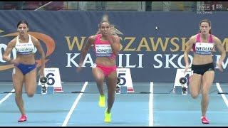 Lolo Jones wins 100m - Warszawa 09 13 2015
