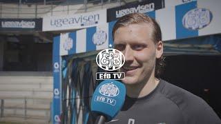 Bjarnason om start i EfB: Meget tilfreds