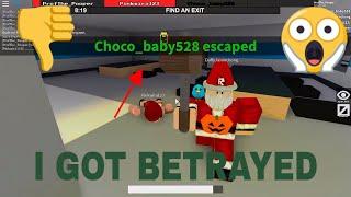 ROBLOX| Gameplay| Flee The Facilty| i Got BETRAYED?!| /w Professor Gaming & DaffyJasonChong