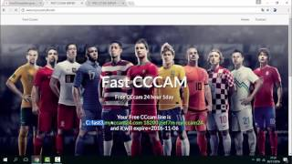 CCcam 24H Gratuit