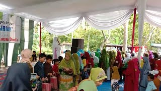 Santunan Anak Yatim Jamaah Ibu ibu Fatayat (Official Music) Lampung Timur