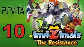 Invizimals - The Resistance - PS Vita Let's Play Walkthrough Part 10 - Oceania + Drilladome