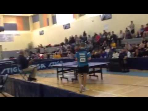 AWG 2014 Greenland Vs Russia (Table Tennis)