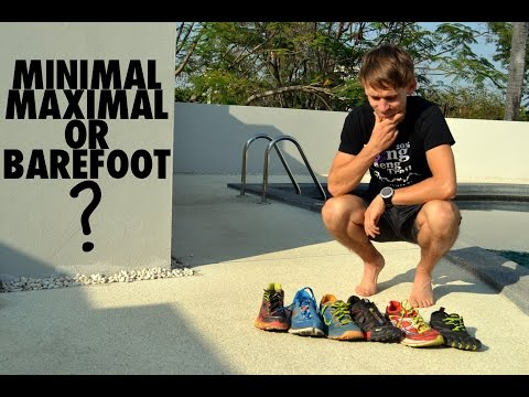 Minimal, Maximal or Barefoot? | + Heel Drop for Best Running Form