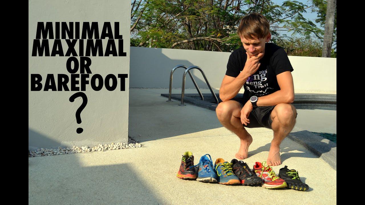 Minimal Maximal Barefoot Heel Drop