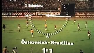 Friendly Match 1973: Brazil x Austria