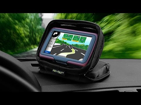 Bracketron Nav-Pack Portable GPS Dash Mount / Travel Case Installation