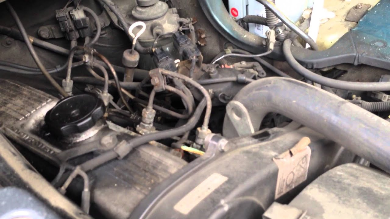 1999 Mitsubishi Eclipse Engine Wiring Diagram Mitsubishi L300 4d56 2 5l 103k Turbo Diesel Engine Motor