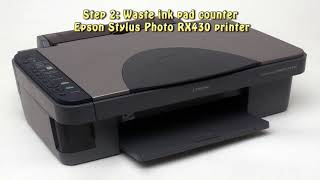 Reset Epson Stylus Photo RX430…
