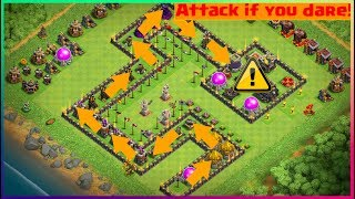 Clash of Clans | Testing my Troll Base on my Clanmates!