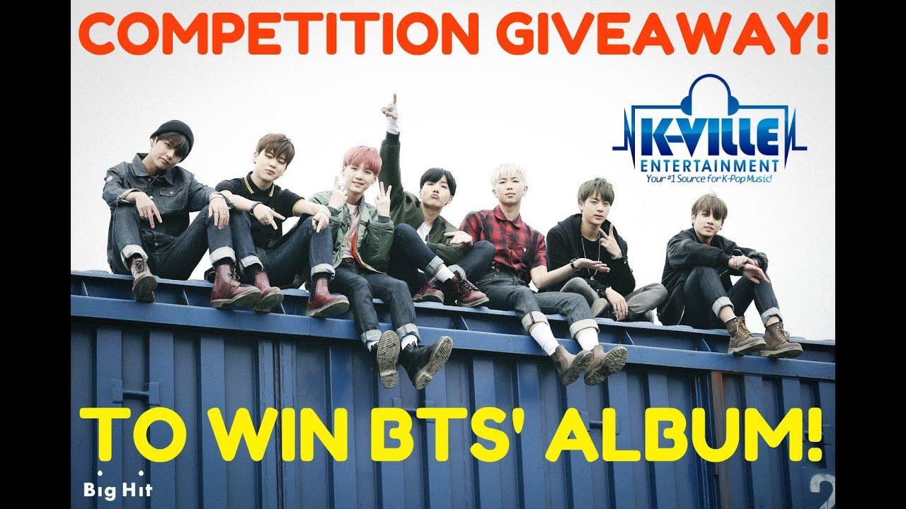Win kpop giveaways