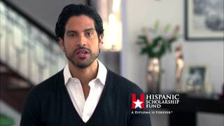 Adam Rodriguez - Hispanic Scholarship Fund English PSA 2014