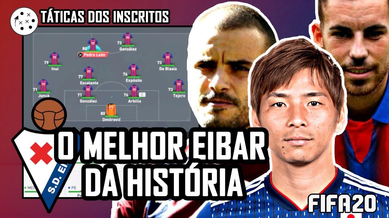 TÁTICAS DOS INSCRITOS! O melhor Eibar de todos os tempos nas mãos de Andre Lucas | FIFA 20