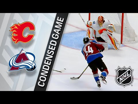 02/28/18 Condensed Game: Flames @ Avalanche
