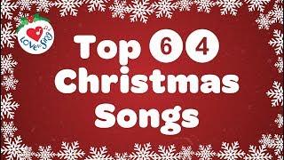 Gambar cover Top 64 Christmas Songs and Carols Playlist with Lyrics 2019 🎅