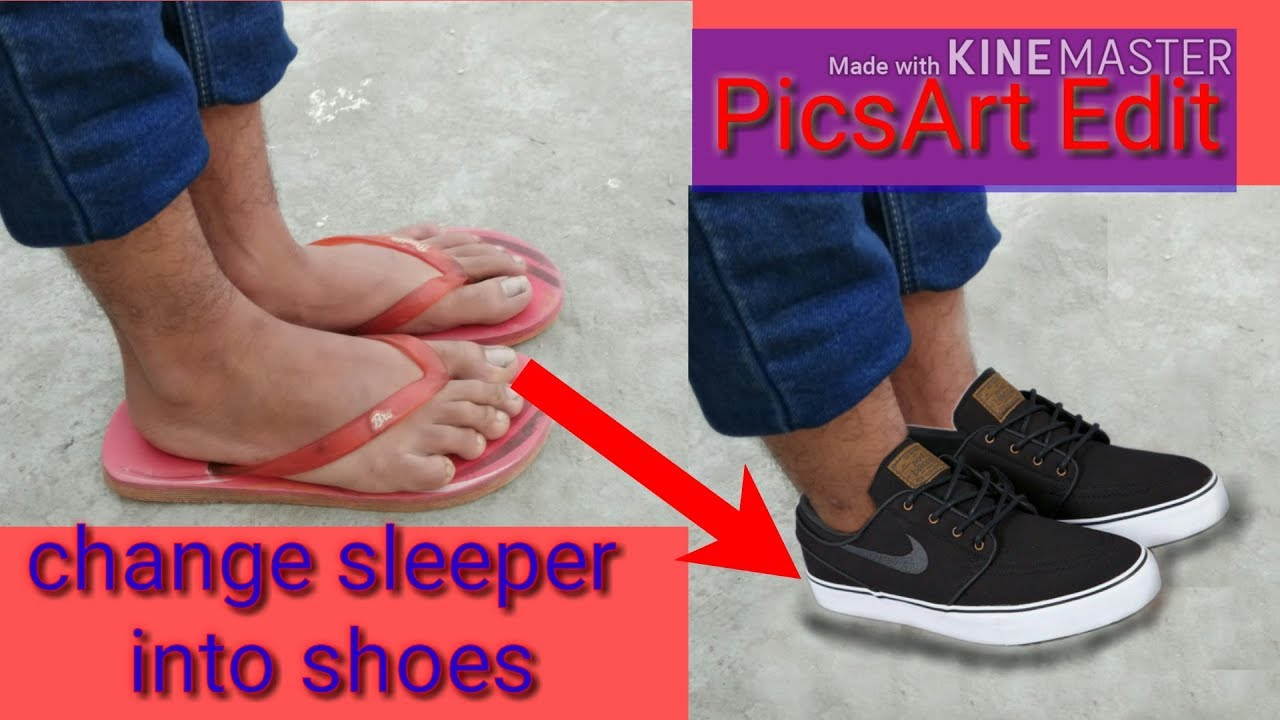Change Your Sleeper Into Shoes Picsart Cb Editing Best Edits Must