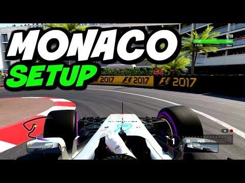 F1 2017 MONACO HOTLAP + SETUP (1:10.203)