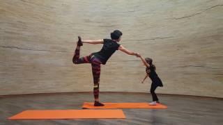Йога с детьми  |  видео-урок