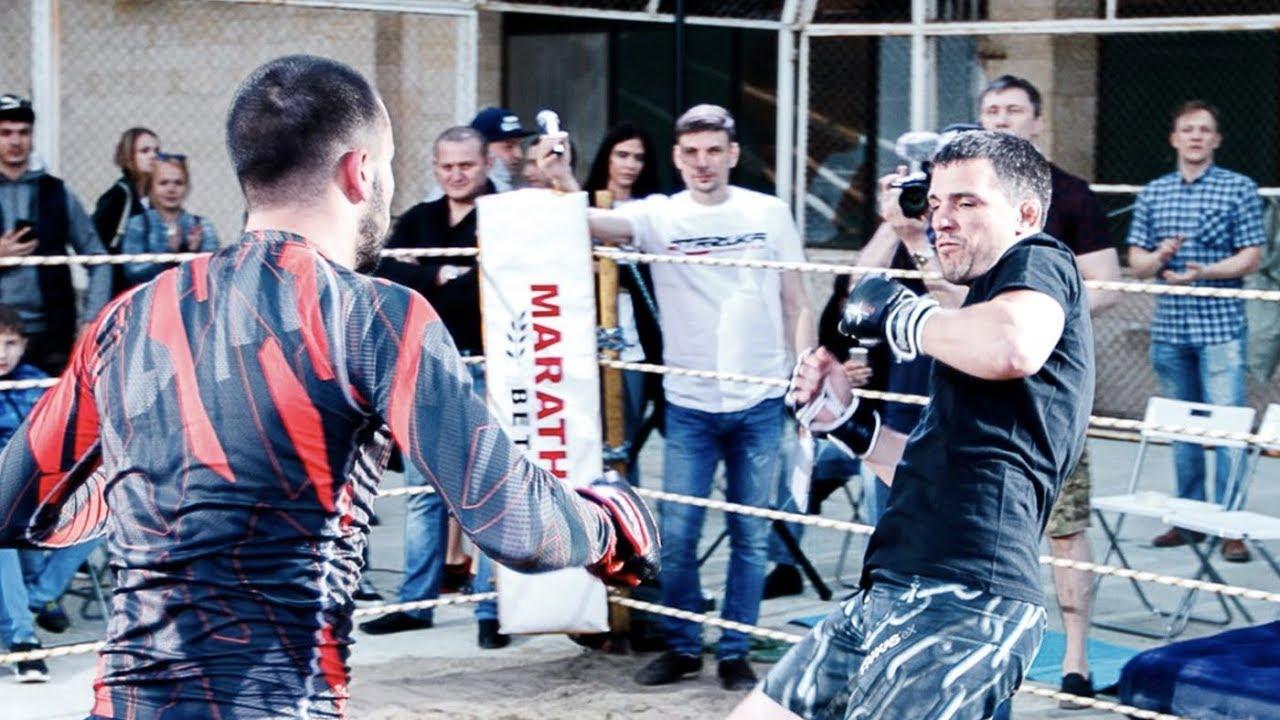 Уличный боец против Бойца ММА