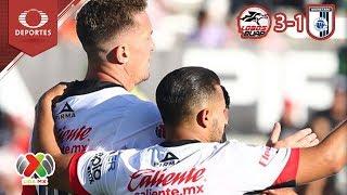 Lobos despluma a los Gallos | Lobos BUAP 3 - 1 Querétaro | Clausura 2019 - J 7 | Televisa Deportes
