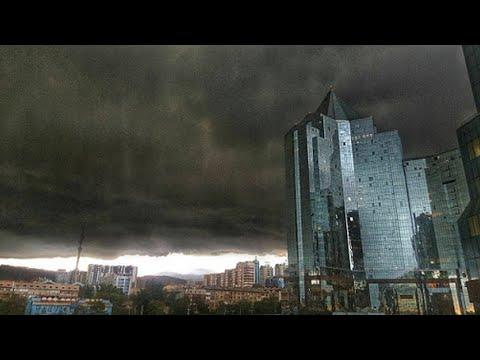 Штормовое предупреждение в Казахстане. Погода в СНГ