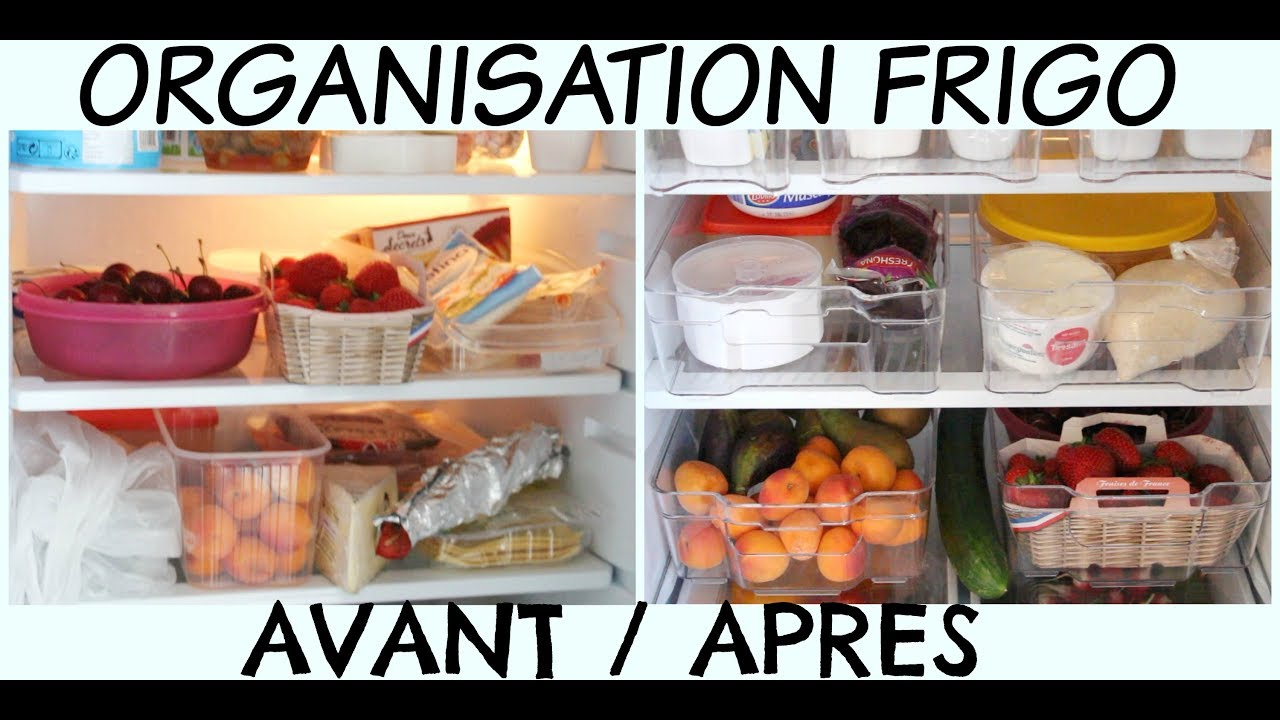 organisation astuces et rangement de mon frigo youtube. Black Bedroom Furniture Sets. Home Design Ideas