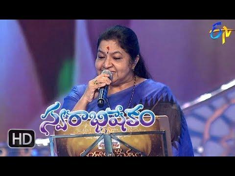 SwapnavenuvedoSong | SP Balu, Chitra Performance | Swarabhishekam | 15th April 2018 | ETV Telugu